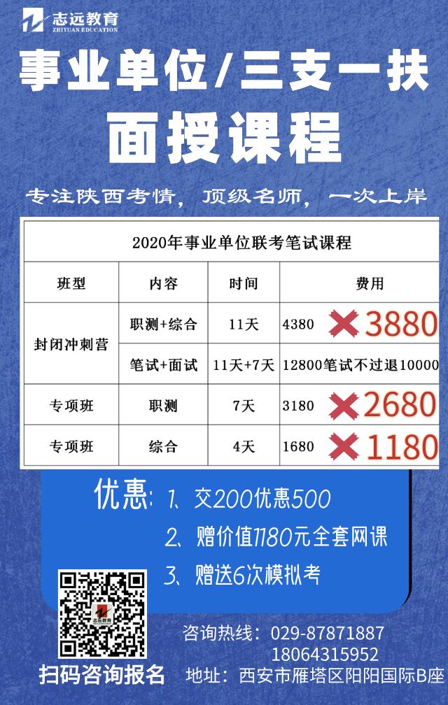 2020陕西事业单位报名人数统计_三支一扶报名人数统计汇总(图1)