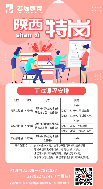 略阳县2020年特岗教师招聘面试资格复审公告(图2)