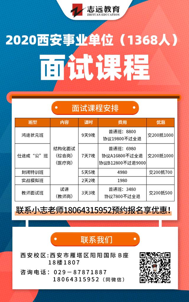 2020年西安事业单位招聘(1368人)笔试成绩查询入口!(图3)