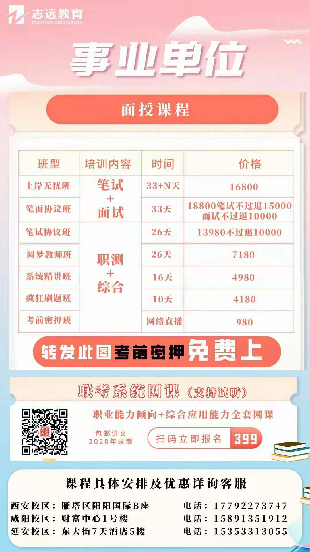 2021年陕西省事业单位公开招聘8598人公告发布——3月18日开始报名,4月11日笔试(汇总)(图5)
